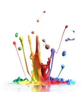 mieszanie farb, kolor, barwa