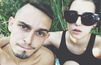 Vito Bambino z żoną, żródło: Instagram/ bitamina.vito.bambino